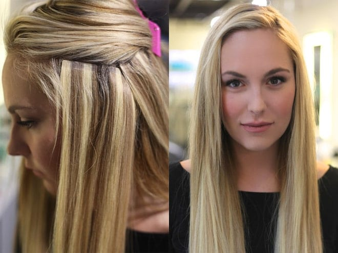 Nothing compares to thick luxurious hair with tape in - Hair salon extensions ...