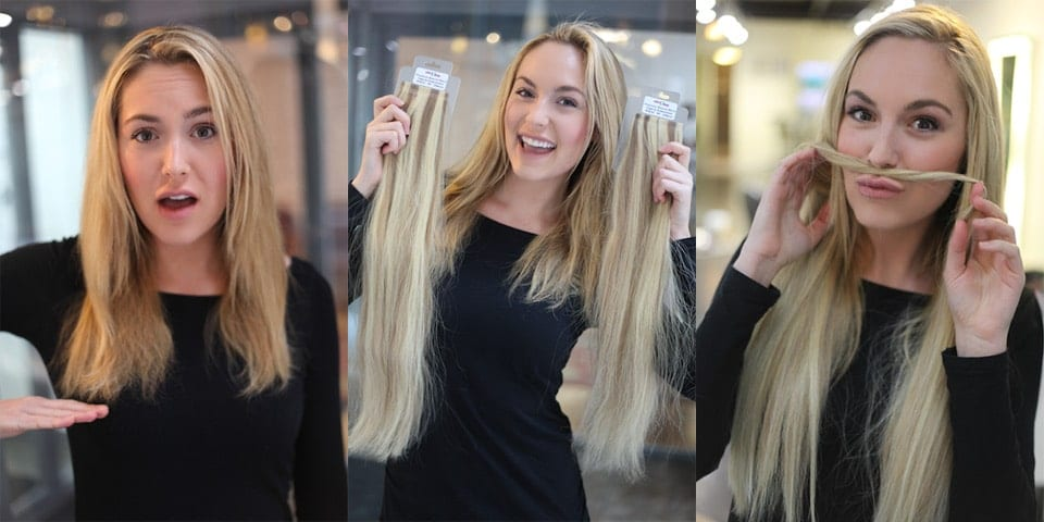 Nothing Compares To Thick Luxurious Hair With Tape In Hair Extensions